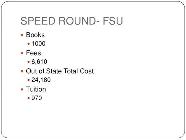 Fsu Room And Board Cost
