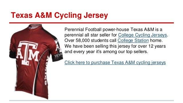 7bcd935dd Shop for Georgia jerseys here  9. Texas A M Cycling Jersey Perennial  Football ...