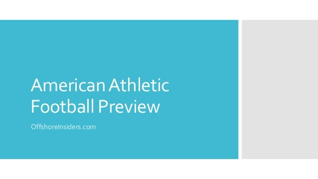 AmericanAthletic Football Preview OffshoreInsiders.com
