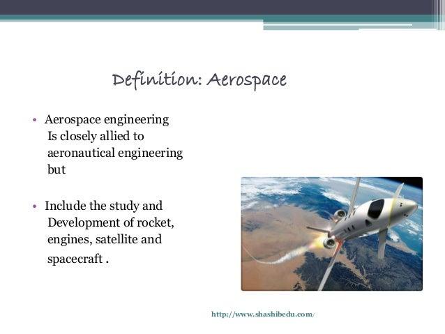3 definition aerospace aerospace engineering