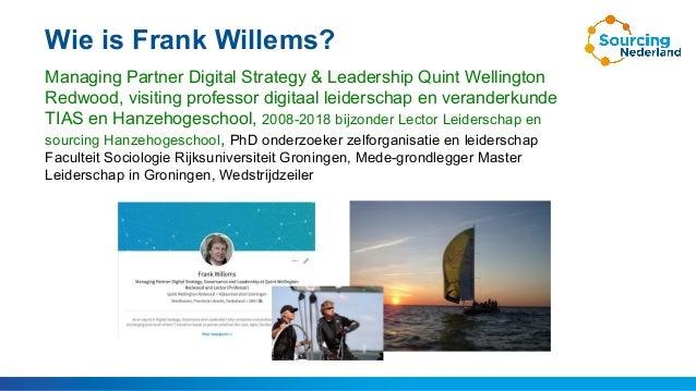 College Frank Willems Quint over digitaal leiderschap, organizational change en digitale strategie Slide 2