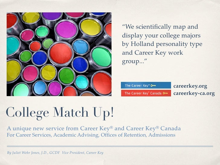 """We scientifically map and                                                              display your college majors        ..."