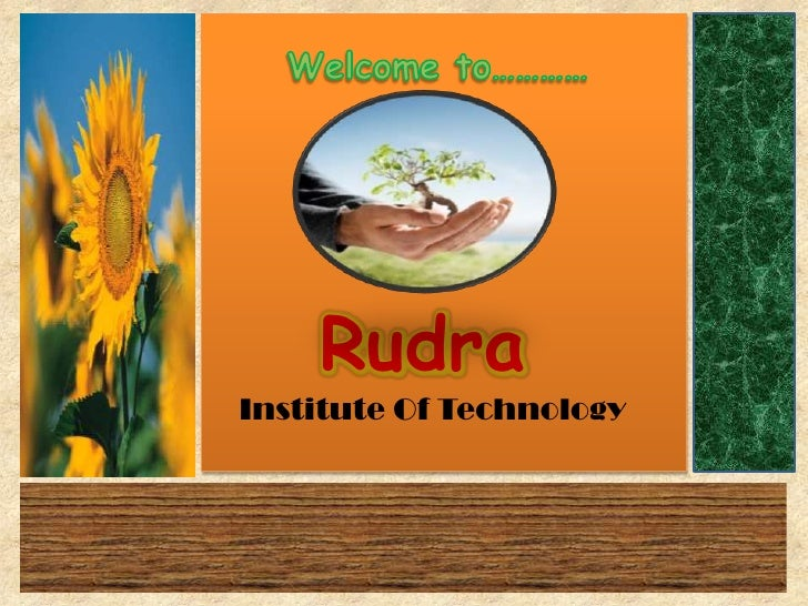 RudraInstitute Of Technology