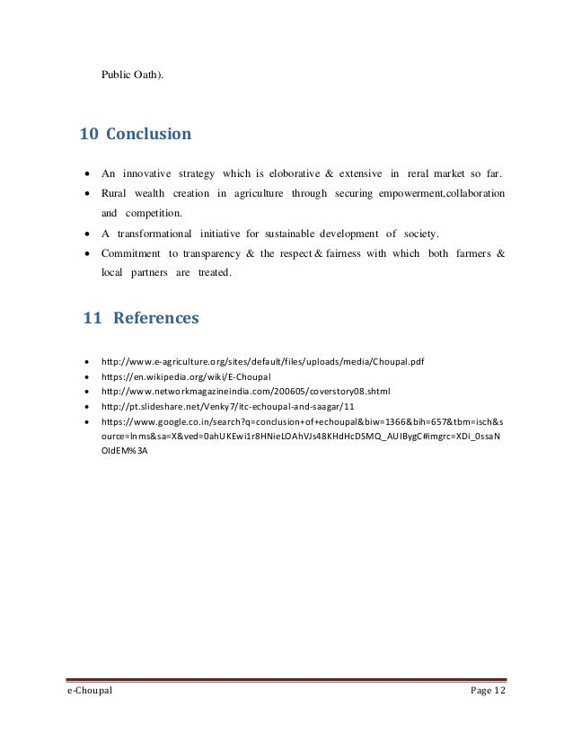 ITC eChoupal Initiative Harvard Case Solution & Analysis