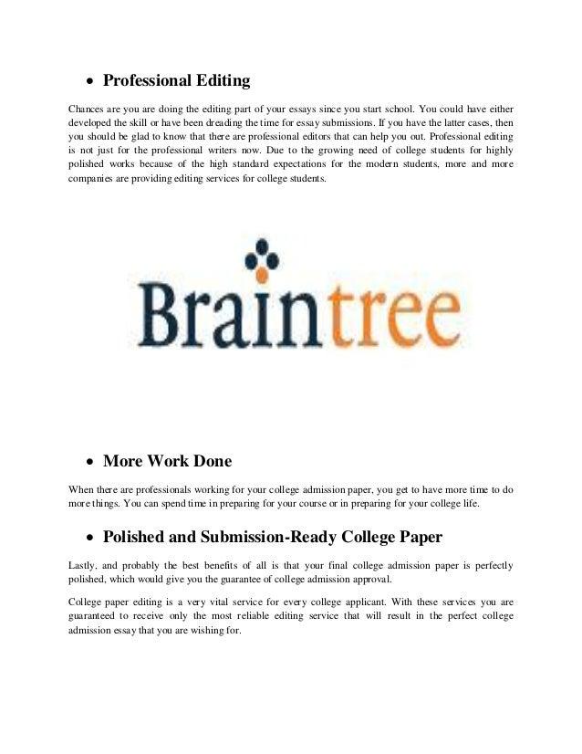 Top-notch Essay Editors Online