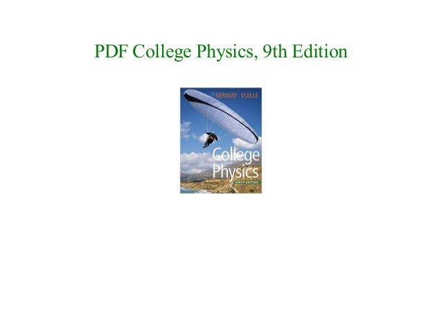 E book college physics 9th edition new 2018 pdf college physics 9th edition fandeluxe Images