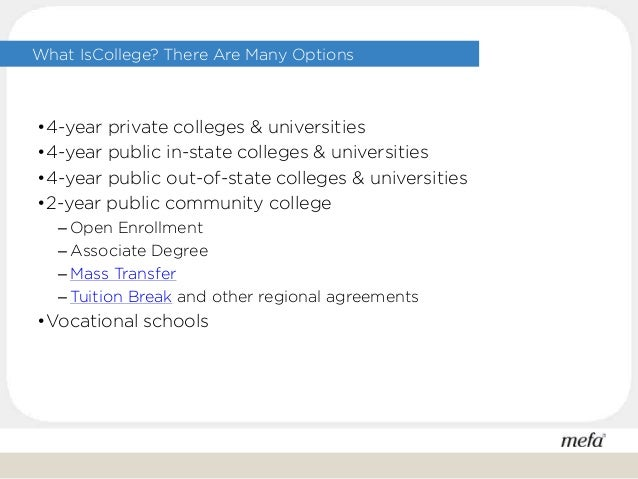 Preparing for college with middle schoolers Slide 3