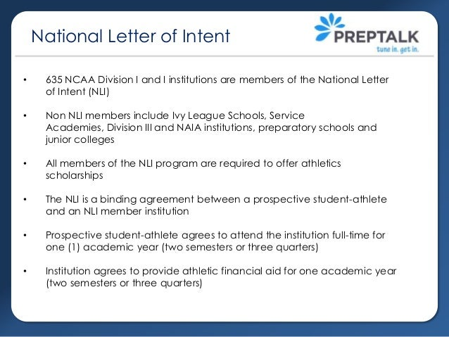 ncaa letter of intent college recruiting part 1 ncaa eligibility nli 23755 | college recruiting part1 ncaa eligibility nli 7 638