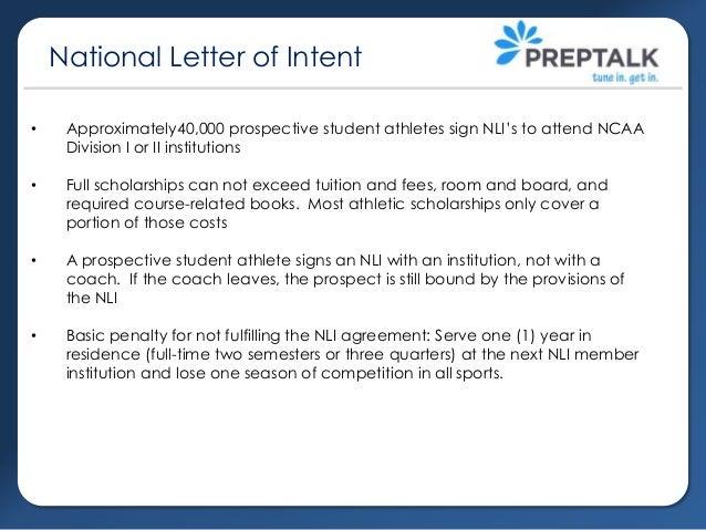 College recruiting part 1 NCAA Eligibility NLI