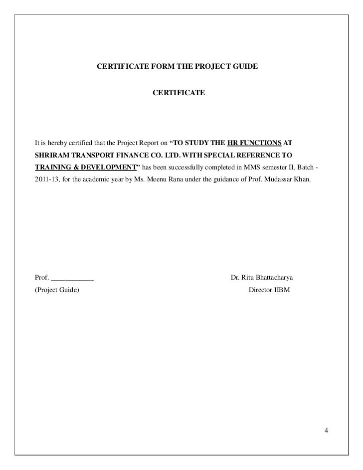 College report certificate form the project yelopaper Images
