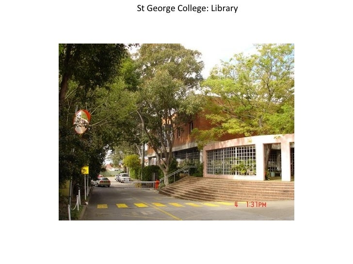 St George College: Library