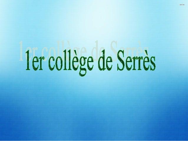 Notre collège est le plus ancien établissement de l'enseignement secondaire dans la ville. C'est pourquoi on l'appelle col...