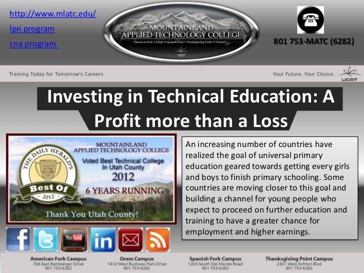 http://www.mlatc.edu/lpn programcna program                                     801 753-MATC (6282)         Investing in T...
