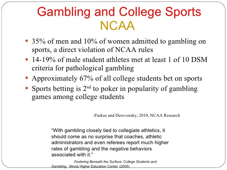 Problem and pathological gambling among college students seneca allegany casino concerts