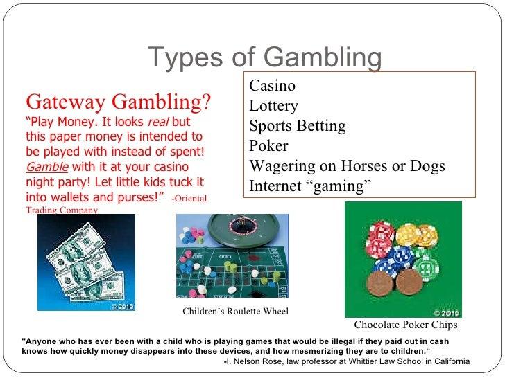 Type of gambling pat gamble cbre careers