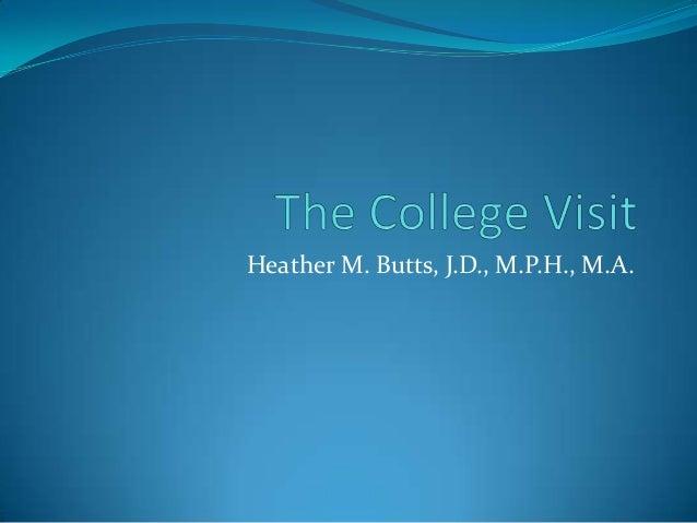 Heather M. Butts, J.D., M.P.H., M.A.