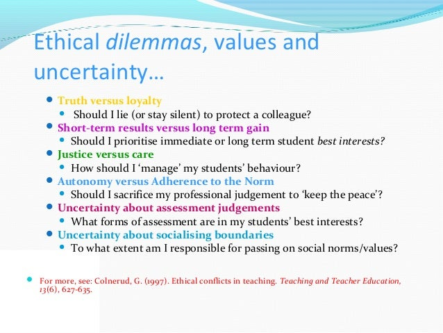 Collegiality, ethics and the dilemmas of professionalism