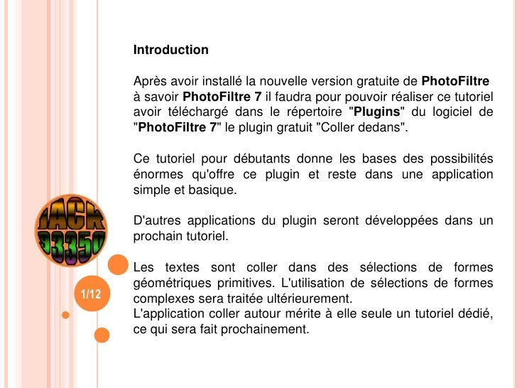 plugin coller dedans photofiltre