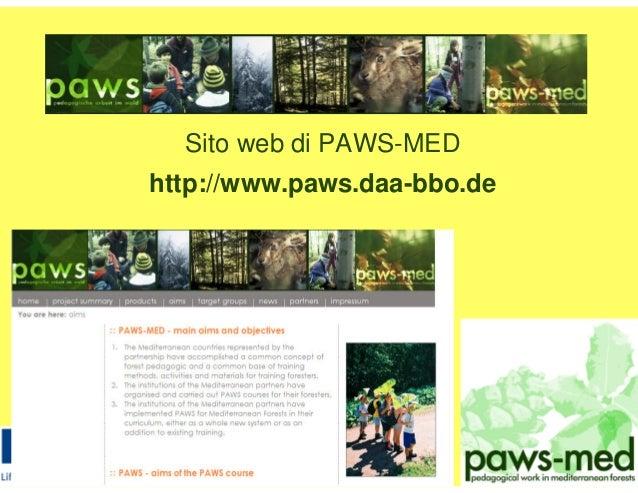 Sito web di PAWS-MED http://www.paws.daa-bbo.de
