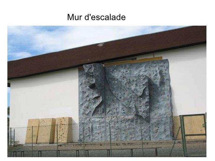 Mur d'escalade