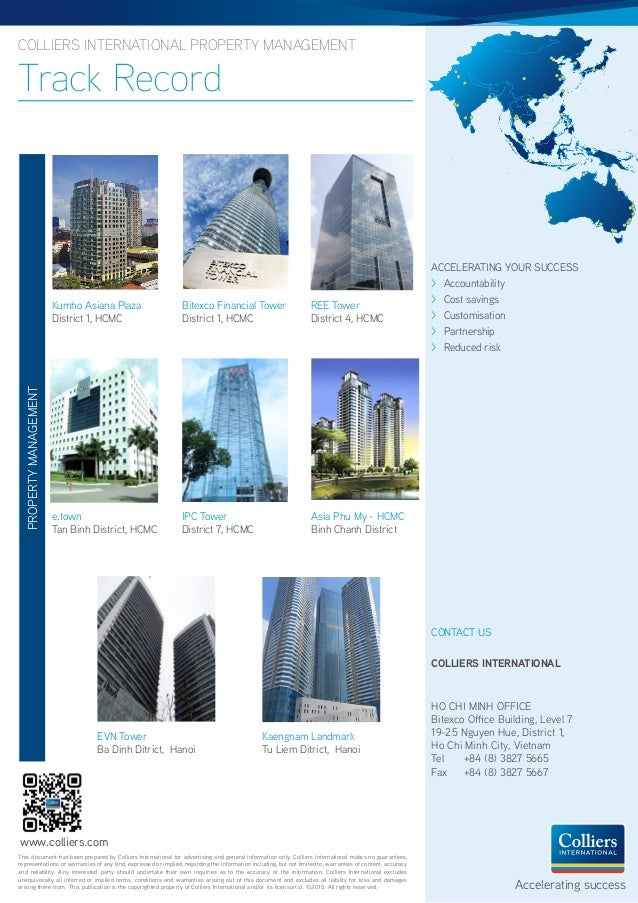 Colliers international property management
