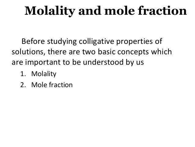 Colligative Properties Slide 2