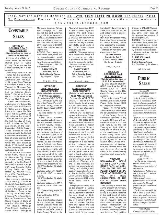 Property Taxes Collin County Tx