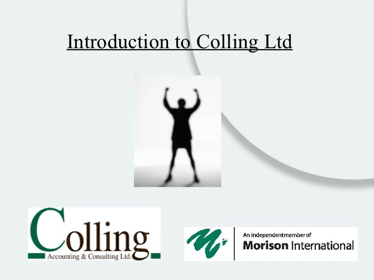 Introduction  to  Colling Ltd