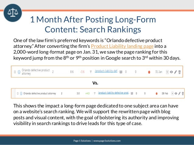 Case Study - Does Long Form Content Really Work?