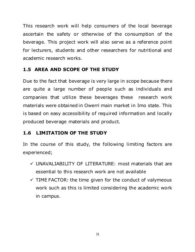 literature review on zobo drink