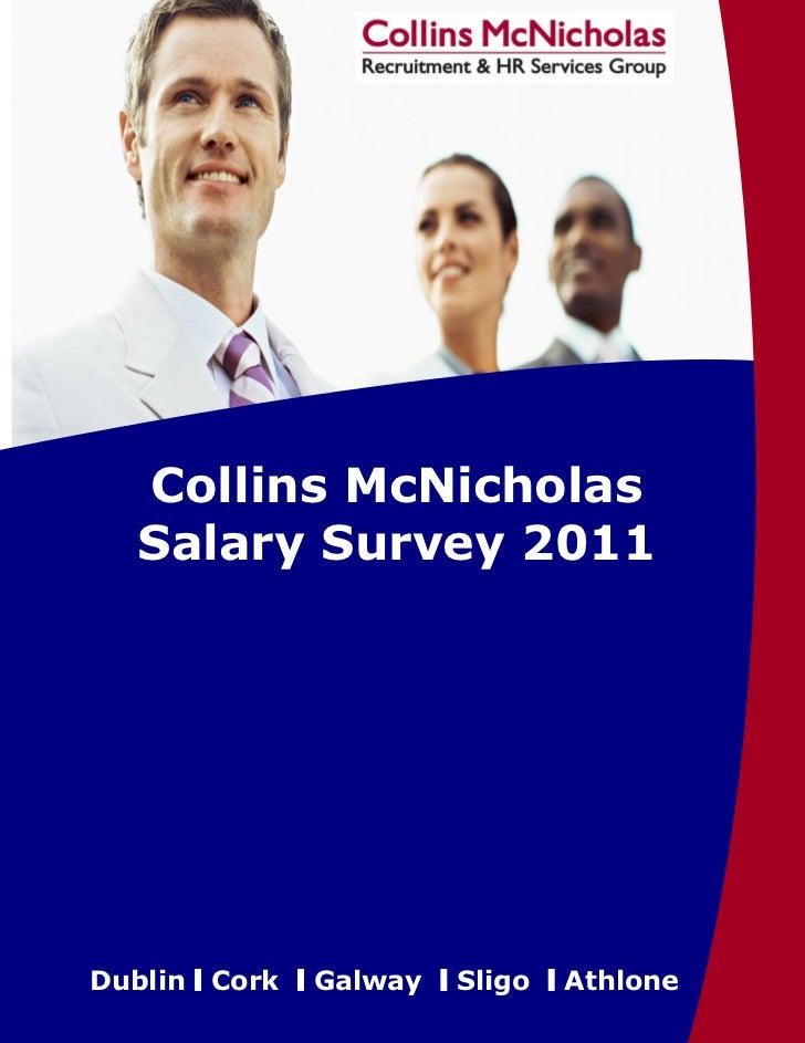Collins McNicholas Salary Survey2011       Collins McNicholas       Salary Survey 2011                                    ...