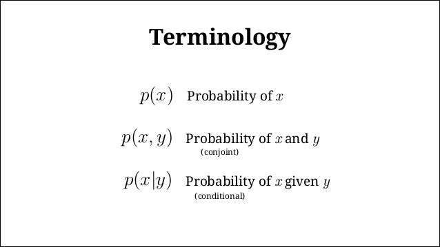 "The Bernoulli distribution For a ""fair"" coin, θ = 0.5 Head (H) = 1, Tails (T) = 0 p(x|θ) = θx(1 − θ)(1−x) A single toss: p..."