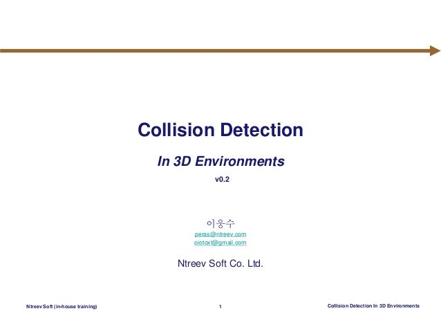 Collision Detection In 3D Environments