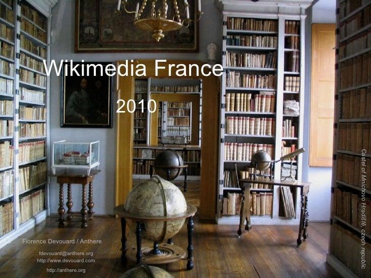 [email_address] http://www.devouard.com http://anthere.org Wikimedia France  2010 Castel of Mnichovo Hradiště, czech repub...