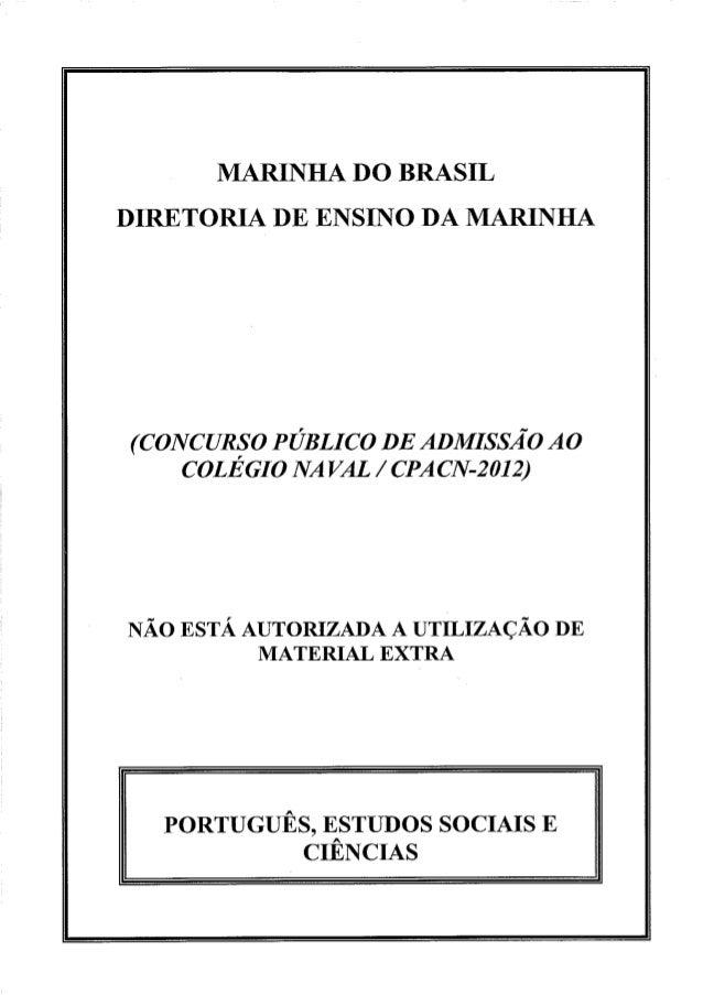 Col  naval português, estudo sociais e ciências (amarela)