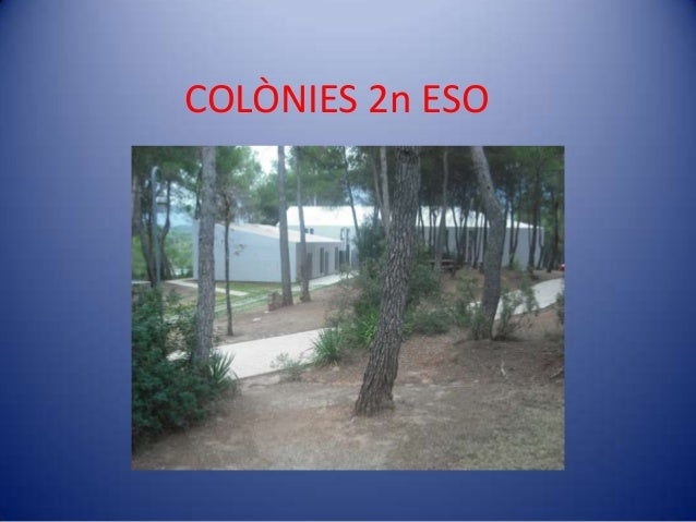COLÒNIES 2n ESO