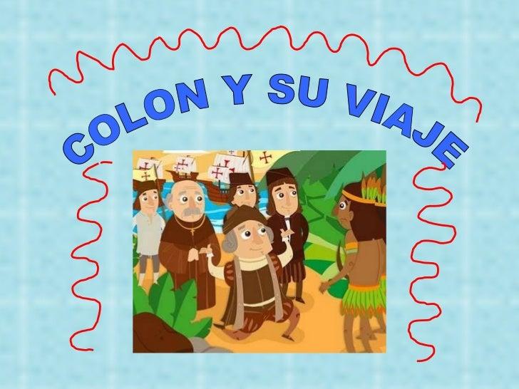COLON Y SU VIAJE