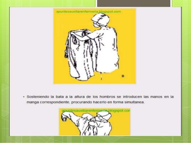 Colocacion de la bata quirurgica ppt