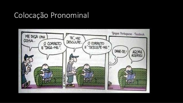 Colocação Pronominal