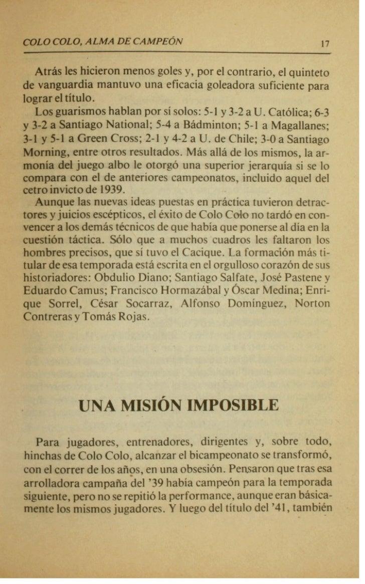 .        m                              COLO LO, ALMA DE CAMPE~N             SALE PLATKO             ...,ENTRA TIRADO     ...