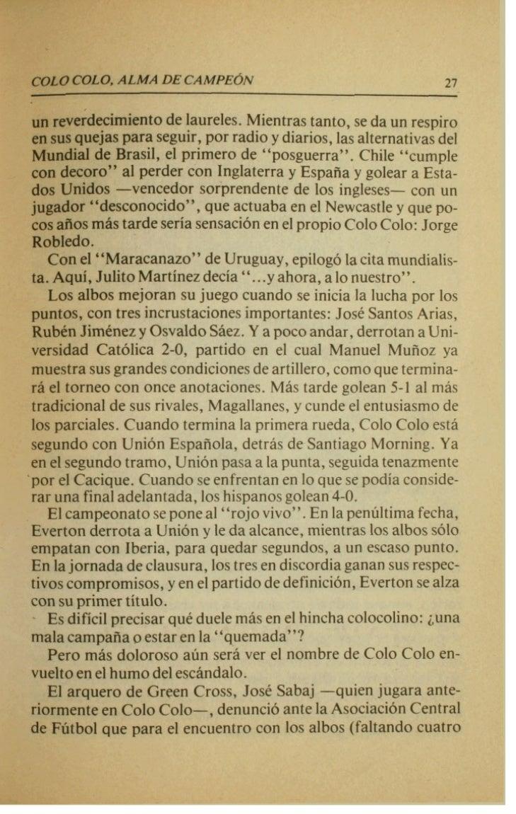 1953-1960         JORGE ROBLEDO CAMBIO        ' LA HISTORIA CON SUS                 GOLES        'Con el centrodelan  ansi...