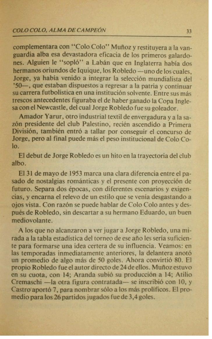 UN SIETE DE LA SUERTE    wga d m p e o n a t o que le reportarP a Colo Cob su dptimotit&. El liltimo para Jorge Robledo, q...