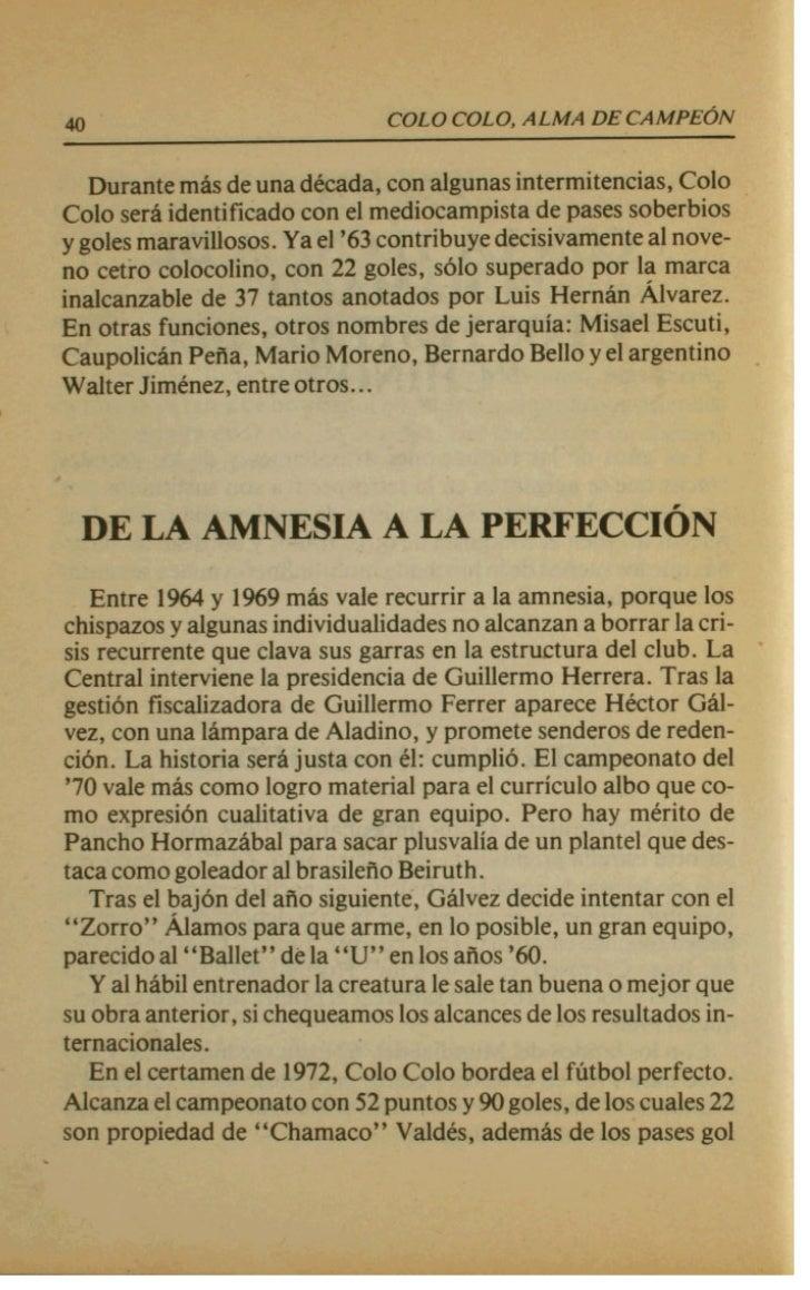 44                             COLO COLO. ALMA DE C A M P E ~ N                DAVID ARELLANO   La figura de David Arellan...