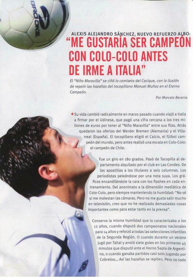"""Revista """"Colo-Colo campeón A.2006"""" Slide 3"""