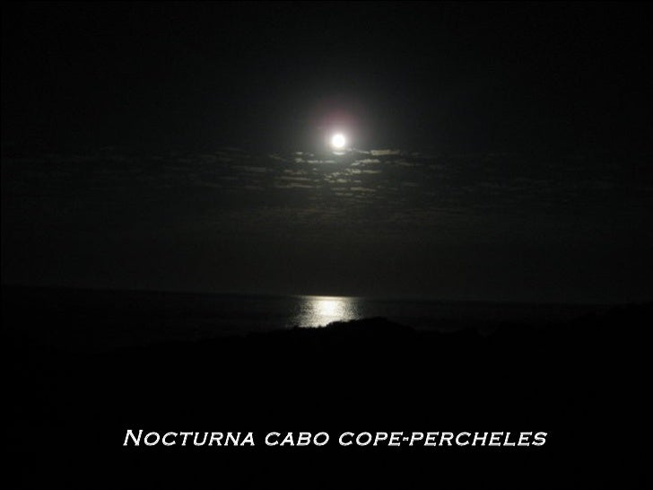 Nocturna cabo cope-percheles