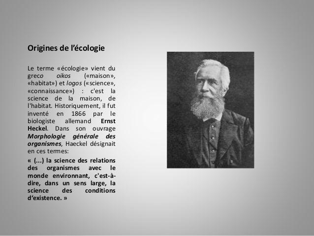 éCologie et environnement Slide 2