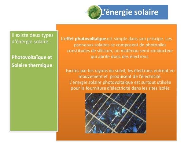 éCologie et environnement Slide 3