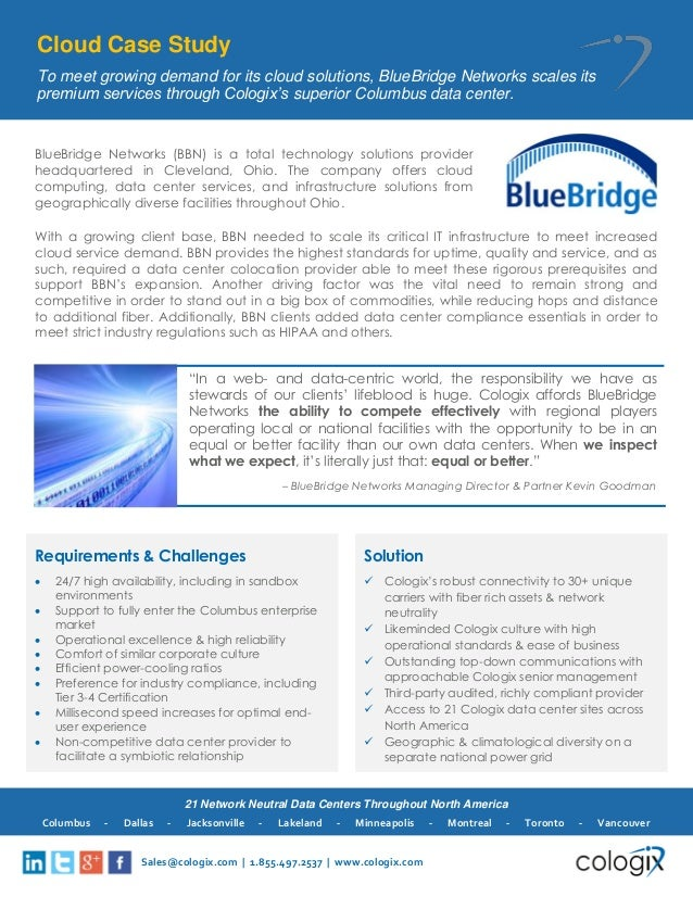 networking solutions case study data_center