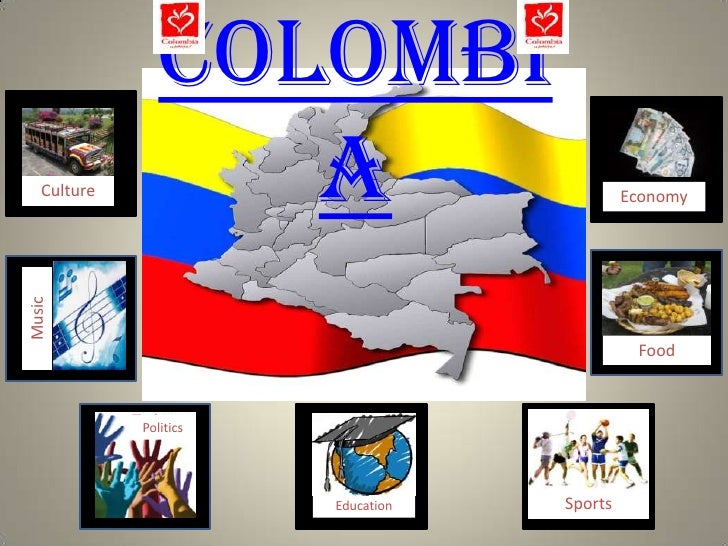 Colombi    Culture         a                         Economy Music                                                   Food ...