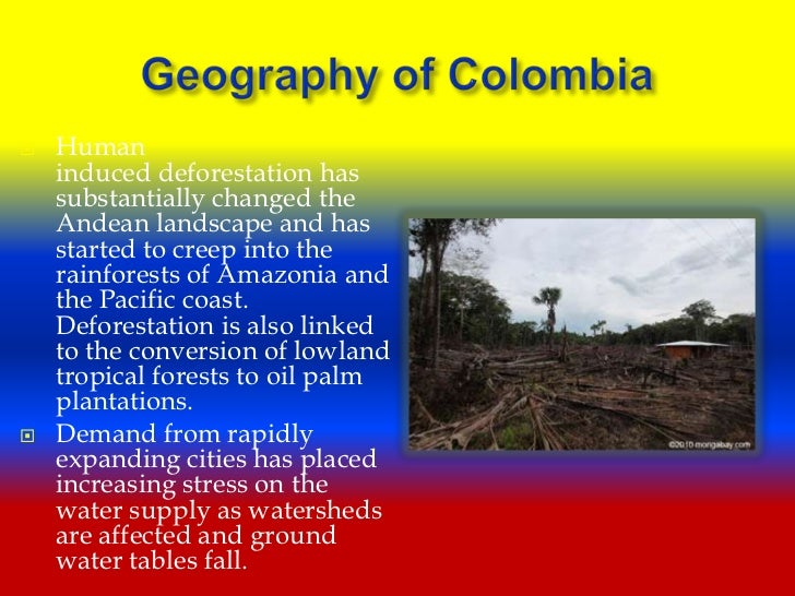 a brief overview of the colombia geography A secondary school revision resource for gcse geography on the global climate, weather, and affecting factors.